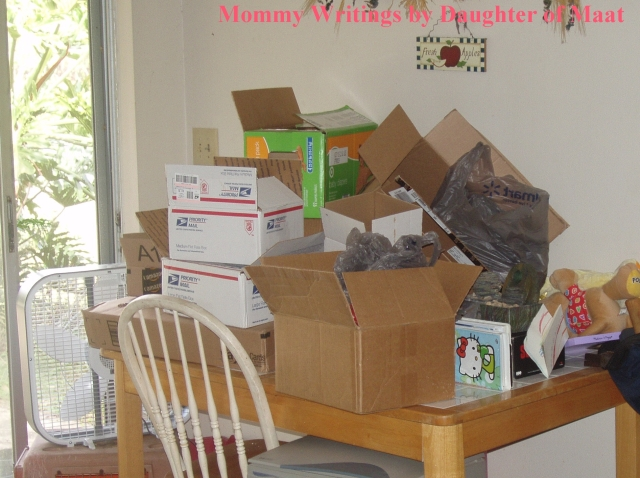 Oh the Clutter!!