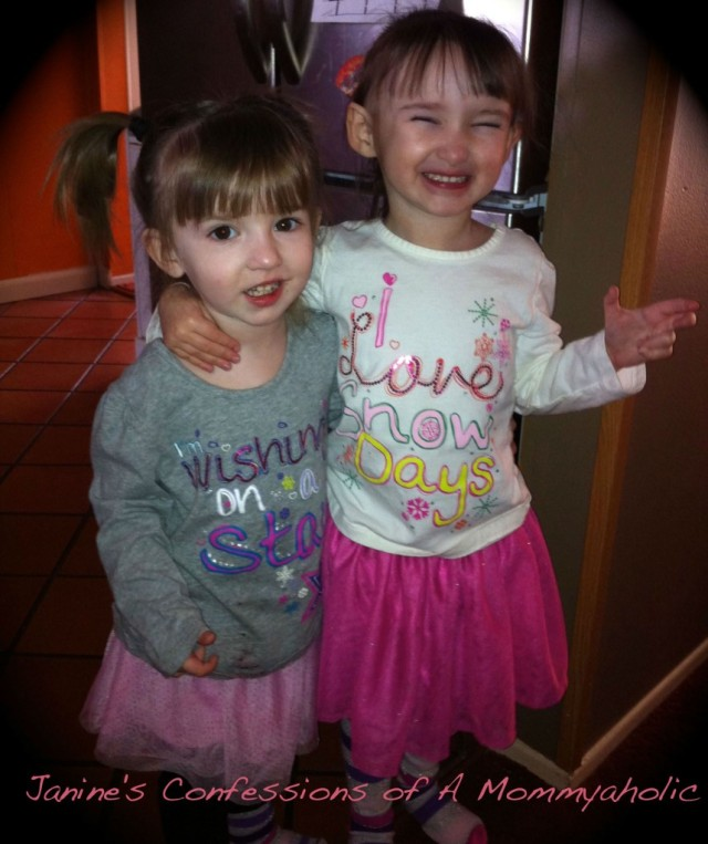 The girls love their skirts! Photo Courtesy of Janine's Confessions of a Mommy-a-holic